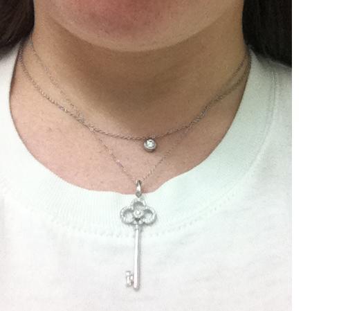 Tiffany co crown key diamond pendant 101250 50 off retail tiffany co crown key diamond pendant 101250 50 off retail aloadofball Images