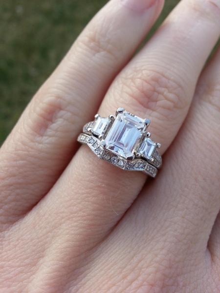 Tacori Wedding Sets | Tacori Engagement Ring And Wedding Band Set Loupe Troop