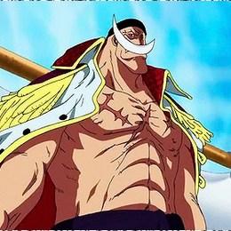 ¿Cuantas divisiones tiene la banda de piratas de Shirohige? - ¿Cuánto sabes de One Piece?