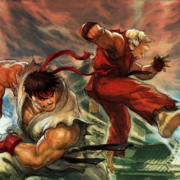 ¿Ryu o Ken? - Test for my family 3 :D