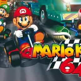 Pista Mario Kart 64 favorita - Test for my family