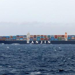 ¿Qué tanto sabes sobre el transporte marítimo? Una fácil ¿Cuál porcentaje aproximado de bienes comercializados en el mundo se mueven a través del transporte marítimo?