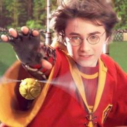 En el primer partido de Quiddich que jugó Harry fue contra… - Harry Potter y la Piedra Filosofal - Test