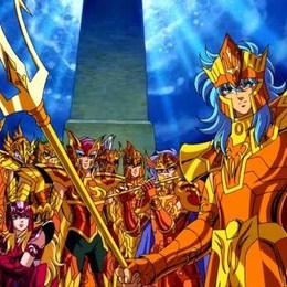Como se les llama a las armaduras de los Generales Marinos - Cuanto sabes de Saint Seiya: Los Caballeros del Zodiaco?