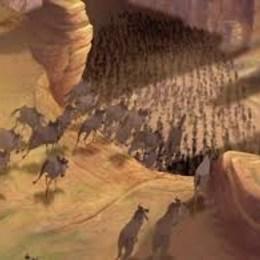 ¿Cuanto tardó en hacerse/dibujarse la escena de la estampida de ñus? - ¿Cuanto sabes del Rey León?