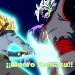 Quienes le ayudan a trunks a matar a la fusión de  zamasu? - ¿Qué tanto sabes de Dragon Ball Super?