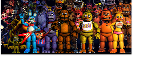 ¿Que animatronico de TODA la saga de Five Nights at Freddy´s eres?