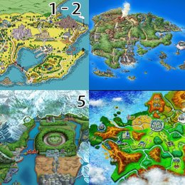 ¿En cuál región se han implementado menos Pokémon hasta la fecha? - Test POKÉMON (Nivel ARCEUS)