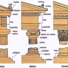 Los griegos reglamentaron un conjunto de normas que convertían a la columna en algo bello, como se llamó? - Test Cultura Griega