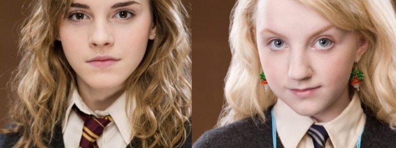 Eres Luna Lovegood o Hermone Granger