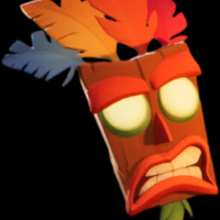 Como se llama la mascara que siempre esta con Crash ? - Cuanto Sabes de Crash bandicoot
