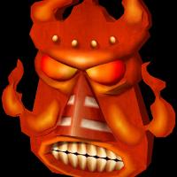 Como se llama la mascara elemental de fuego ? - Cuanto Sabes de Crash bandicoot