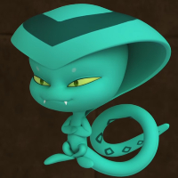 Una serpiente en un...  - Miraculous de la Serpiente