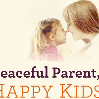 What is the author name?  - Peaceful Parents Happy kids
