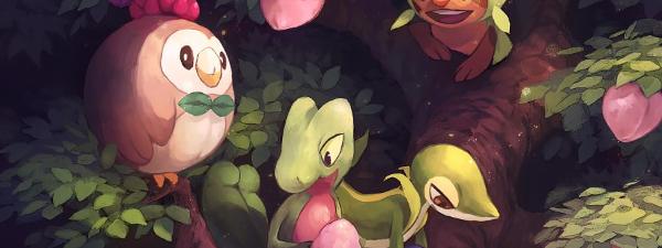 ¿Que pokemon planta seria tu compañero?