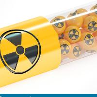 Utiliza un marcador de yodo radiactivo para evaluar la estructura y el funcionamiento de la glándulatiroides - Actividad Semiología II.