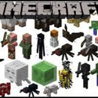 Cual de estos mobs no te atacan de dia? - Cuanto sabes de Minecraft?