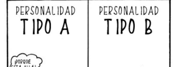 Descubre que personalidad tienes (Tipo A o B)