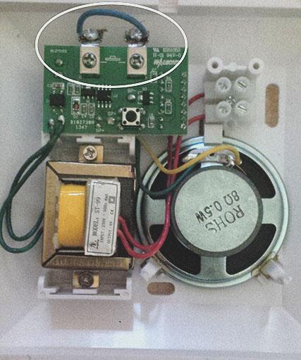 Carillon sonnette probl me de branchement - Comment brancher une sonnette electrique ...