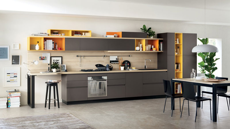 Khalife For Kitchens Doors Foodshelf Scavolini New Kitchen Range Design By Ora Ito
