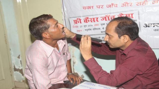 कानपुर केमधुलोक हॉस्पिटलमें निःशुल्क कैंसर जांचशिविर का आयोजन