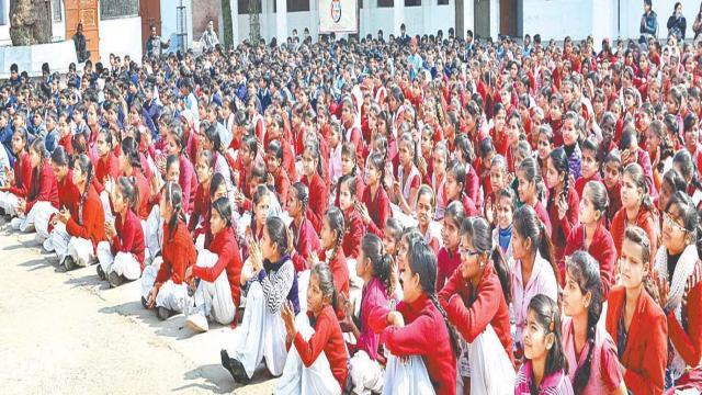 रत्नमुनि जैन कालेज में हुई पुलिस की पाठशाला।