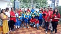 हल्द्वानी के पाथ फाइंडर बोर्डिंग स्कूल में पौधारोपण कार्यक्रम का आयोजन।
