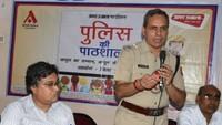 कानपुर के ओंकारेश्वर इंटर कॉलेज में हुई पुलिस की पाठशाला।