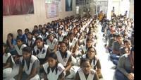 26 जुलाई को कानपुर के ओंकारेश्वर सरस्वती विद्या निकेतन इंटर कॉलेज में आयोजित पुलिस की पाठशाला में मौजूद विद्यार्थी।