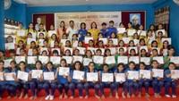 वाराणसी के 42 विद्यालयों में 5000 छात्राओं को दी गई सेल्फ डिफेंस की ट्रेनिंग।