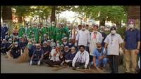 स्वच्छ हल्द्वानी-सुन्दर हल्द्वानी सफाई के महा अभियान में मौजूद चिकित्सकों की टीम