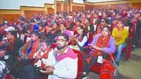 स्व. श्री डोरीलाल अग्रवाल राष्ट्रीय मेधावी दिव्यांग छात्रवृत्ति वितरण समारोह में शामिल मेधावी विद्यार्थी