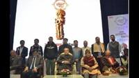 पूर्व राष्ट्रपति प्रणब मुखर्जी ने किया शब्द साधकों का सम्मान