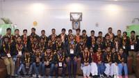 अतुल माहेश्वरी छात्रवृत्ति- 2018 के विजेताओं का नोएडा स्थित अमर उजाला कार्यालय में हुआ भव्य स्वागत