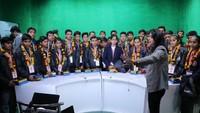 अतुल माहेश्वरी छात्रवृत्ति-2018 के विजेताओं ने किया प्रेस भ्रमण