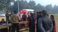 गोरखपुर के तिनकोनिया नंबर दो में फैला सेहत का संदेश