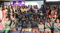 नौनिहालों को ठंड से राहत प्रदान करने के लिए कानपुर में स्वेटर का वितरण