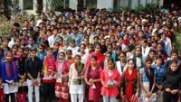 मुज़फ्फरनगर के श्रीराम कॉलेज में अतुल माहेश्वरी छात्रवृत्ति परीक्षा के लिए 512 परीक्षार्थी हुए शामिल