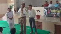 कानपुर के सरस्वती विद्या मंदिर इंटर कालेज में आयोजित पुलिस की पाठशाला की प्रकाशित खबर