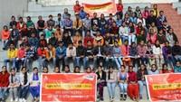 शिमला के पोर्टमोर स्कूल में आयोजित अतुल माहेश्वरी छात्रवृत्ति परीक्षा के दौरान मौजूद छात्र-छात्राएं