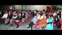 नोएडा केसेक्टर- 37 स्थित अरुण विहार कम्यूनिटी सेंटर में आयोजित 'पुलिस की चौपाल' में मौजूद स्थानीय लोग