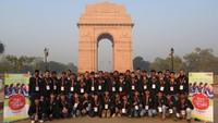 अतुल माहेश्वरी छात्रवृत्ति- 2019 के विजेताओं ने दिल्ली भ्रमण के दौरान इंडिया गेट का दीदार किया। यहां पर फोटो खिंचवाने के बाद शहीदों को अंतर्मन से श्रद्धांजलि अर्पित की और नमन किया।