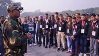 अतुल माहेश्वरी छात्रवृत्ति- 2019 के विजेताओं ने दिल्ली भ्रमण के दौरान वार मेमोरियल का दीदार किया।