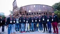 अतुल माहेश्वरी छात्रवृत्ति- 2019 के विजेताओं ने दिल्ली दर्शन के दौरान सराय कालें खां स्थित वेस्ट टू सेवेन वंडर्स पार्क का भ्रमण किया