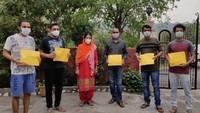 बिलासपुर के ग्रामीण क्षेत्रों में जरूरतमंद लोगों को पल्स ऑक्सीमीटर उपलब्ध कराया गया