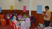 श्रावस्ती में भी बेटियों को दिया गया पत्रकारीय लेखन और वीडियो रिपोर्टिंग का प्रशिक्षण।