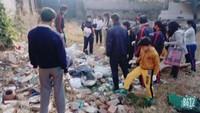 हल्द्वानी के गुरु तेग बहादुर स्कूल के आस-पास बच्चों ने चलाया सफाई अभियान