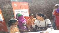 करनाल के अराडाना गांव में 417 लोगों का निःशुल्क स्वास्थ्य परीक्षण