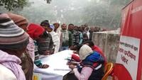 आजमगढ़ के बेलकुंडा में 866 मरीजों का निःशुल्क स्वास्थ्य परीक्षण