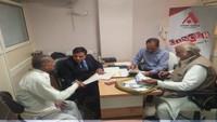 गाजियाबाद में आयोजित फ्री कैंसर चेकउप कैंप में 142लोगों ने कराया परीक्षण